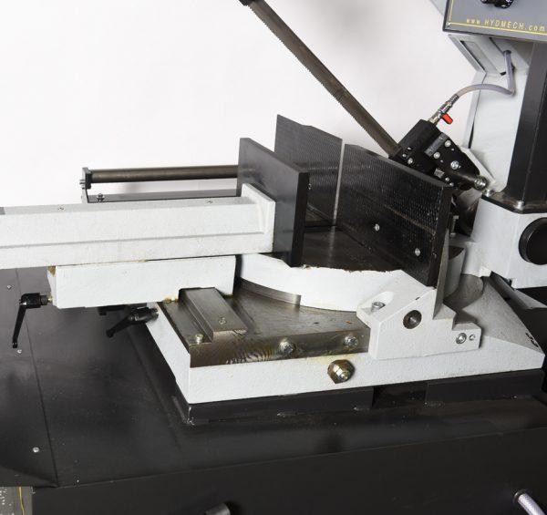 DM-1215 Quick Release Cast Iron Vise On Dovetail Ways