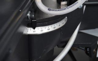 Horizontal Pivot Band Saw Angle Display