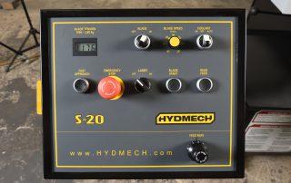 Horizontal Pivot Band Saw Control Panel