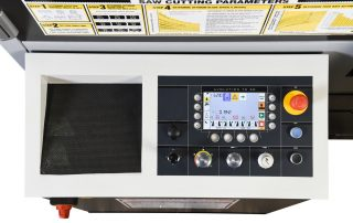 H-14A Automatic Touch Screen PLC Programmable Up To 100 Jobs