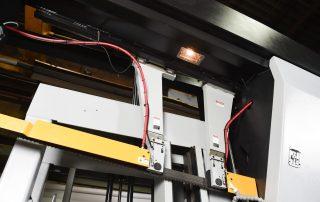 H-32A Work Light Illuminates The Cutting Surface