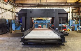 H-40/80 8 Feet of Powered Rollers Are Built Into The Machine