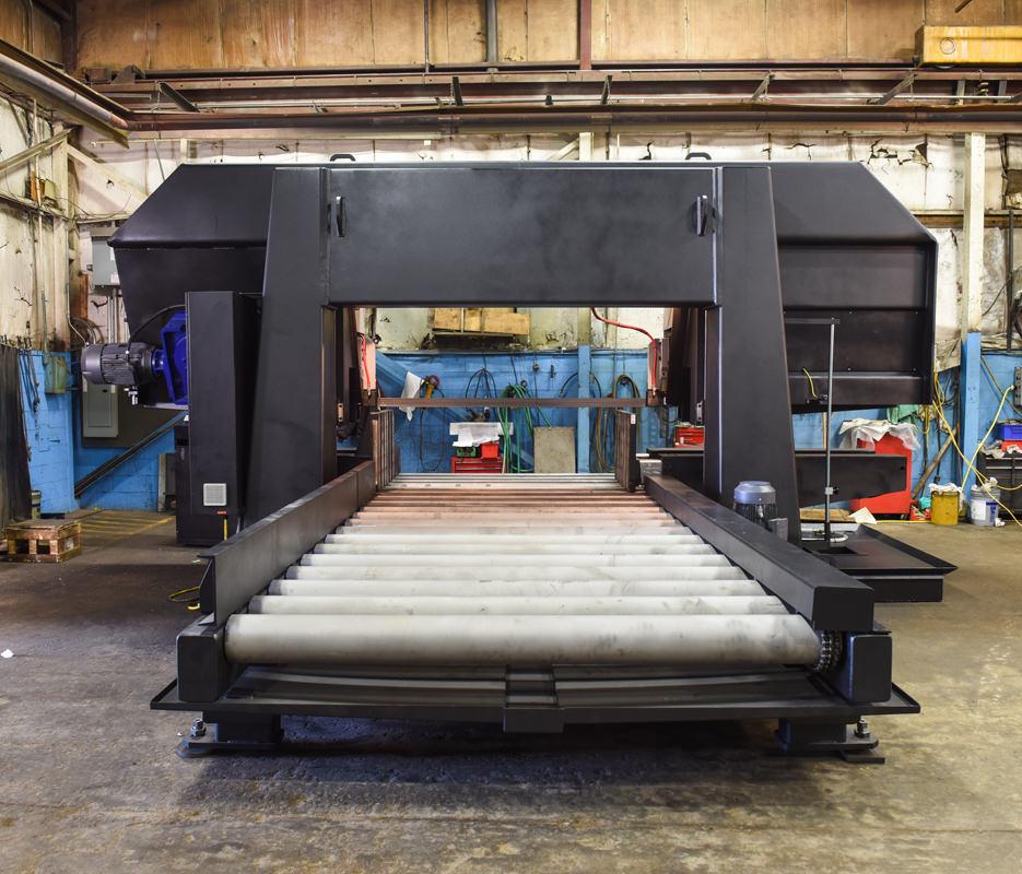 H-40/80 8 Feet Powered Roller