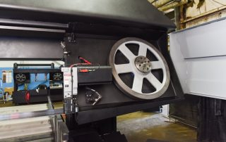 H-40/80 Hydraulic Band Tensioning With Digital Readout