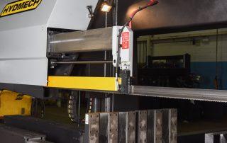 H-40/80 Work Light Illuminates The Cutting Area
