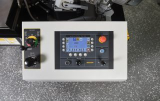 S-20A automatic plc touch screen control programmable up to 100 jobs with 20 in queue