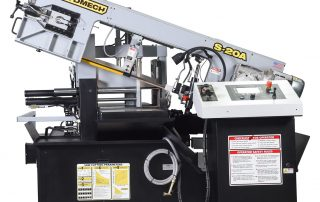 S-20A features an easy swing cast iron head
