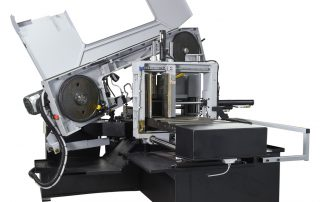 S-20A machine features cast iron band wheels