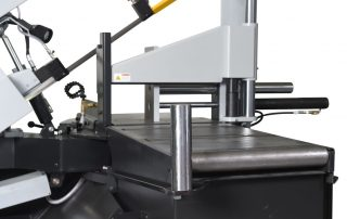 S-20P 36 inch Material In feed Roller Table With Vertical Roller To Keep Material Aligned