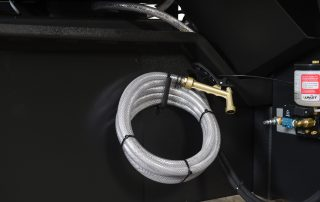 S-23A features flood coolant with wash down hose