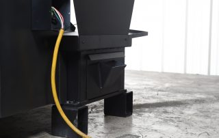 S-23P easy to access coolant drawer