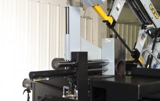 S-23P features a full capacity full stroking hydraulic vise