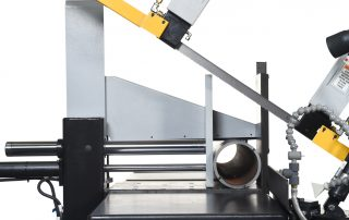 S-23P offers hydraulic overhead bundling as an option