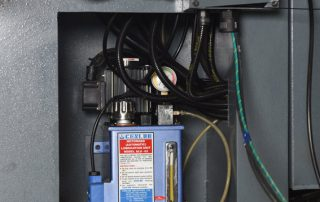 CSNC-65 machine blade lubrication system
