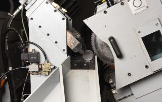 CSNC-65 material held in place with variable vise pressure