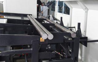 CSNC-100 bar loader with safety guard sheet