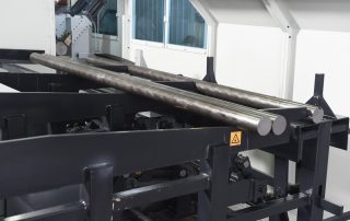 CSNC-125 bar loader with safety guard sheet