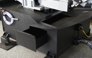 DM-1318P coolant drawer is easy to access