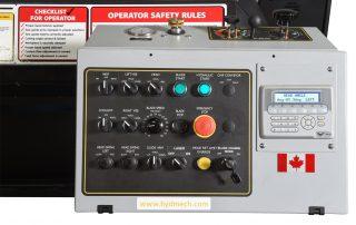 V-25 control panel