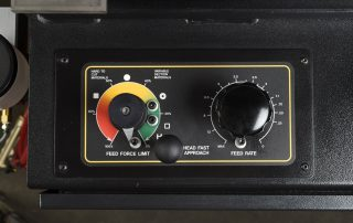 VW-18 feed rate and feed force controls