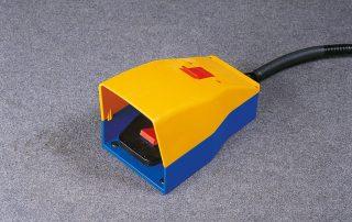 C350-2AV foot pedal with emergency stop