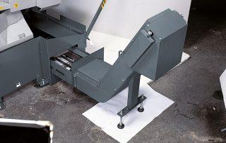 C370-2CNC optional automatic chip conveyor