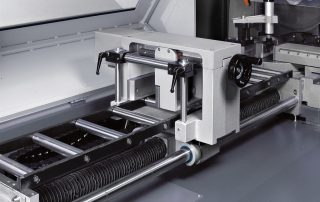 CNF400CNC shuttle with automatic multi indexing up to 40 inches