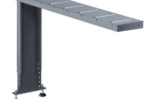 P350 optional K40 5 foot roller table