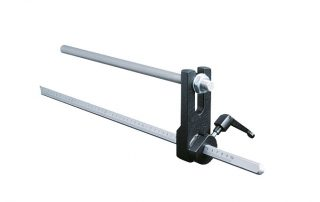 P350 optional material stop with ruler