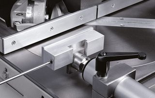 PNF350-2S movable aluminium jaws can be adjusted vertically