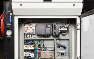 Easy access electrical panel