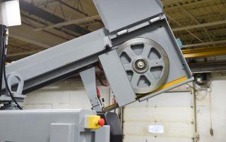 M-16A cast iron band wheels