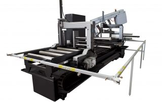 M-20A-120 automatic multi indexing up to 120 inches in a single stroke
